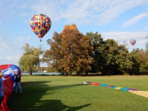 Schedule A Hot Air Balloon Ride in Michigan