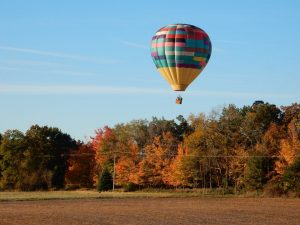 Hot Air Balloon Ride Rates in Michigan