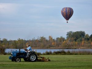 Hot Air Balloon Ride Services in Michigan